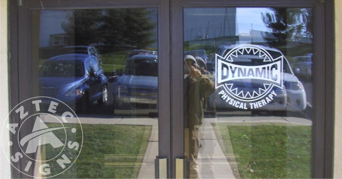 Windows Decals - Vinyl decals for glass doors